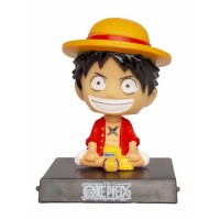 One Piece Monkey D Luffy Sallanan Kafa Figür Biblo